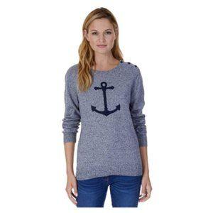 Nautica Womens Long Sleeve Sweater